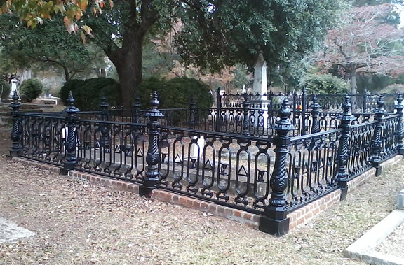 Completed Odd Fellows Fence