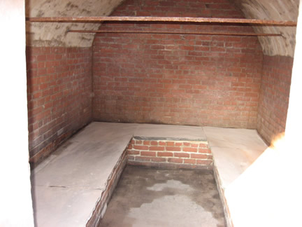 Inside of Fish Vault